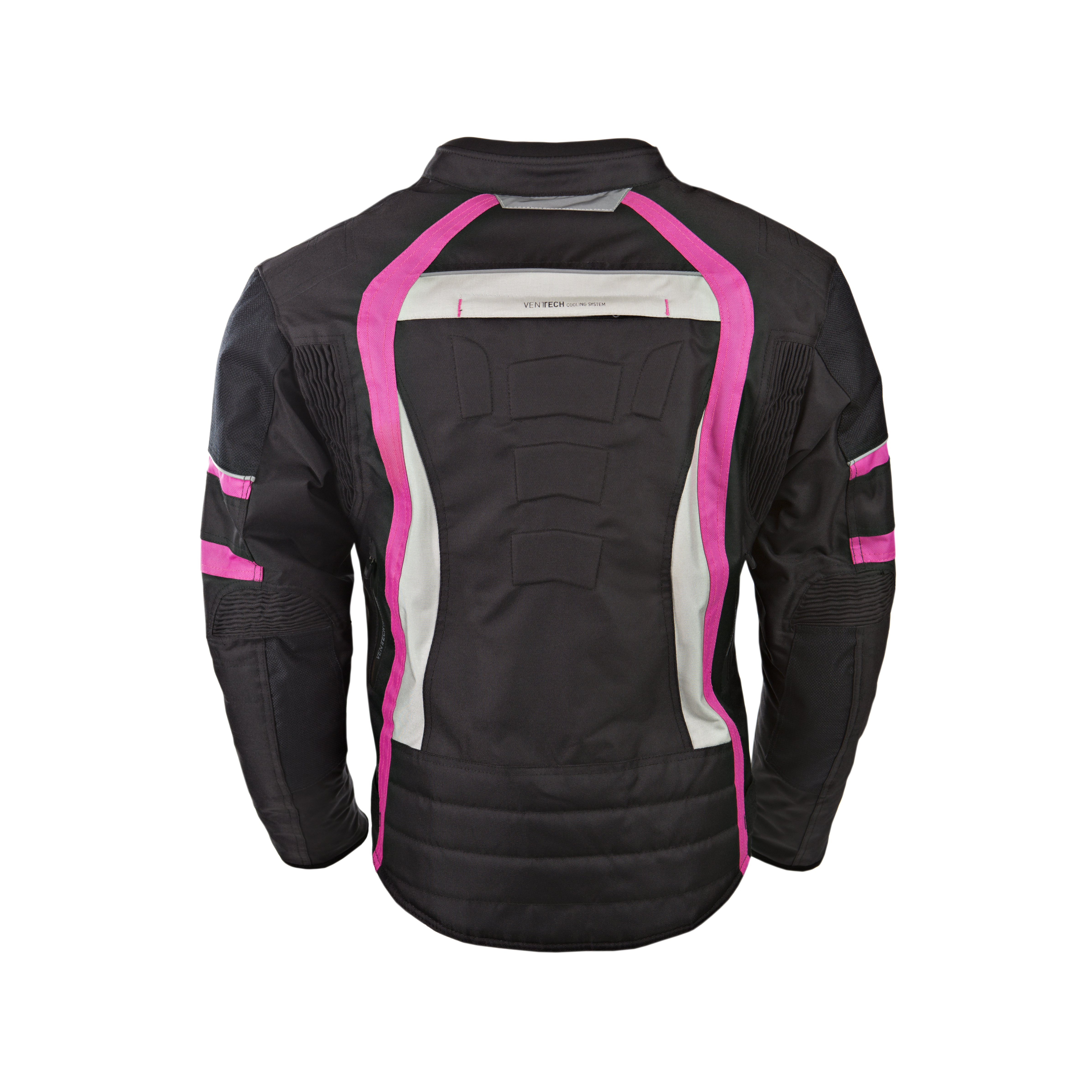 Blouson de protection blind/é pour moto En textile imperm/éable scooter Rose