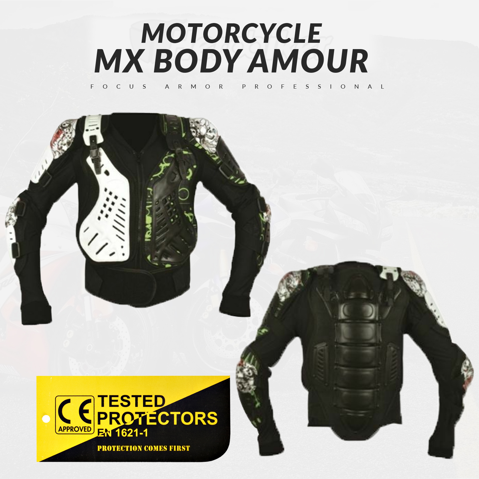 Alpinestars Bionic Action Jacket Body Armour Suit// Motocross Enduro Body Armour//