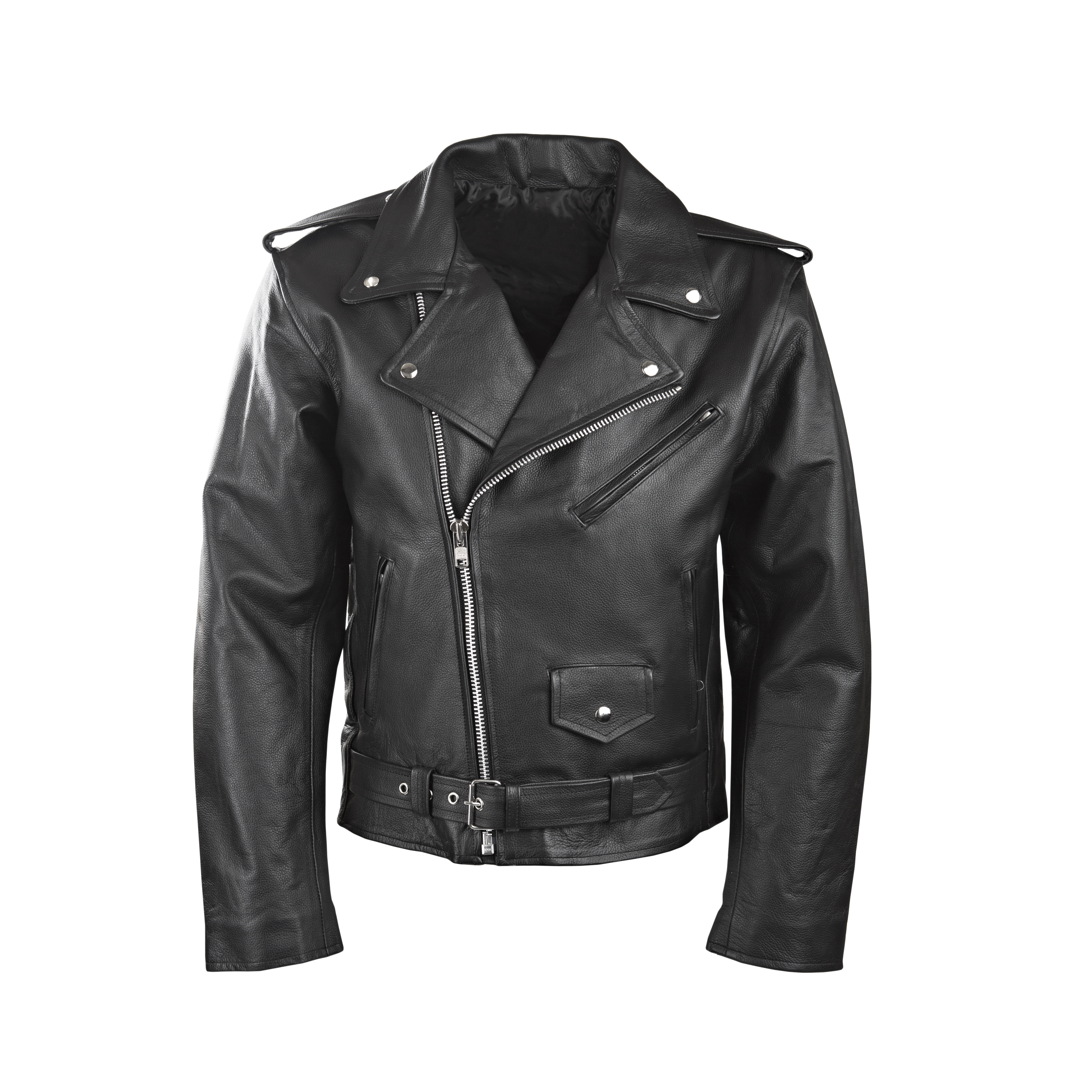 MENS BLACK MOTORCYCLE MOTORBIKER BARGAIN CLASSIC LEATHER JACKET CLEARANCE ef890e6bad3a