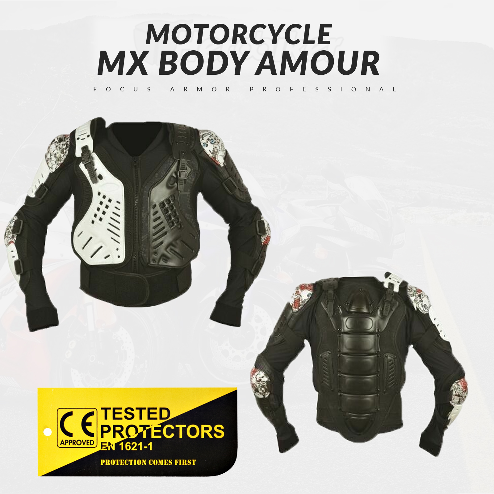 Motocross Dirtbike MX ATV Thor Sentry XP Protection Jacket