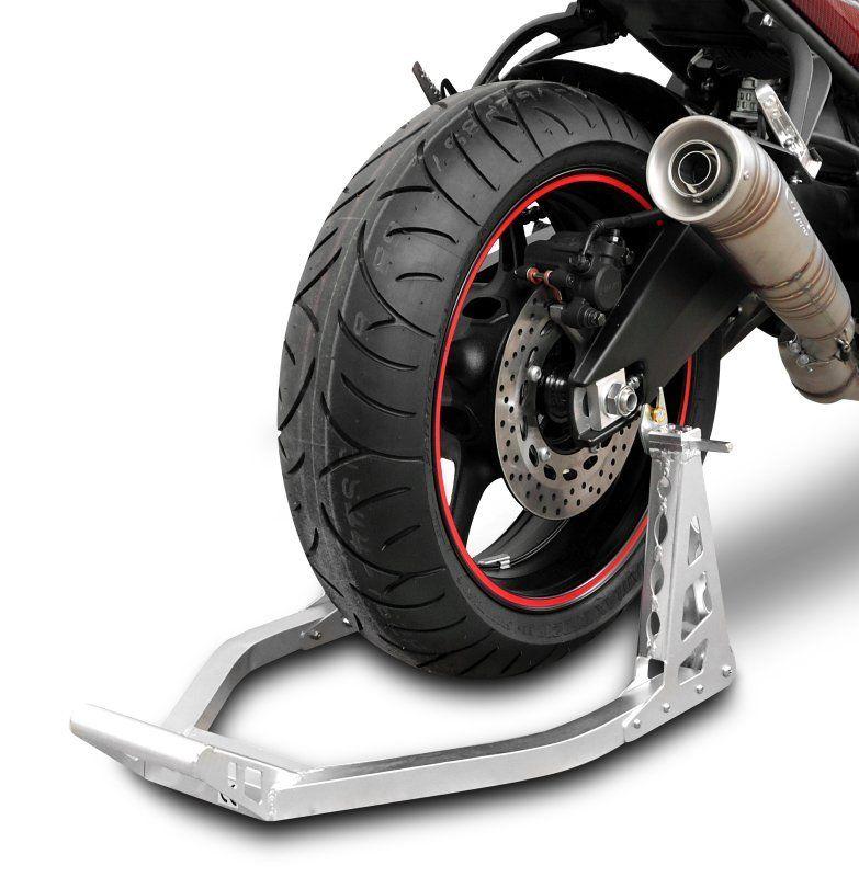 Rear paddock stand back wheel motorcycle moto